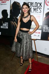 Victoria Justice on Red Carpet - Sherlock Holmes Premiere in Los Angeles