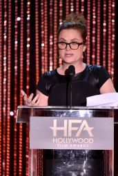 19th Annual Hollywood Film Awards in Beverly Hills Red Carpet – Amy Poehler