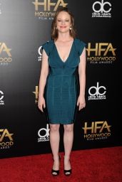 19th Annual Hollywood Film Awards in Beverly Hills Red Carpet – Thora Birch