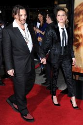 Amber Heard and Johnny Depp – THE DANISH GIRL Premiere in Westwood