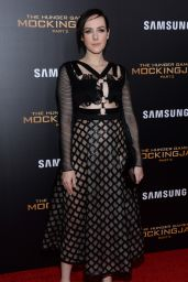Jena Malone – The Hunger Games: Mockingjay, Part 2 Screening in NYC