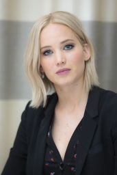 Jennifer Lawrence at THE HUNGER GAMES: MOCKINGJAY PART 2 Press Conference in Berlin