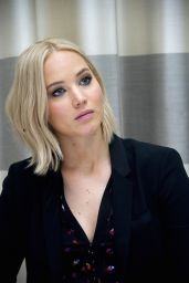 Jennifer Lawrence at THE HUNGER GAMES: MOCKINGJAY ­PART 2 Press Conference in Berlin
