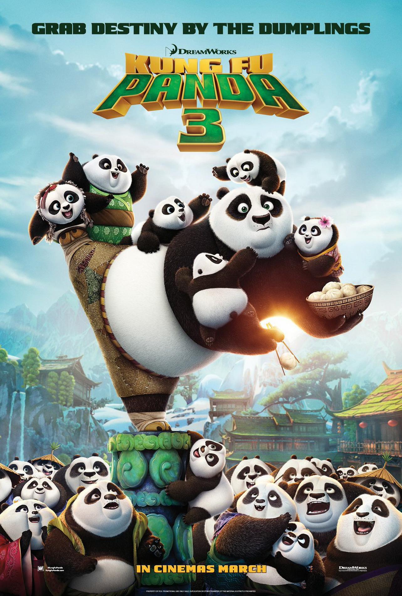 fu kung panda trailer filmofilia