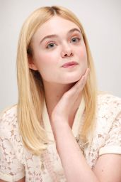 TRUMBO Press Conference In Los Angeles - Elle Fanning