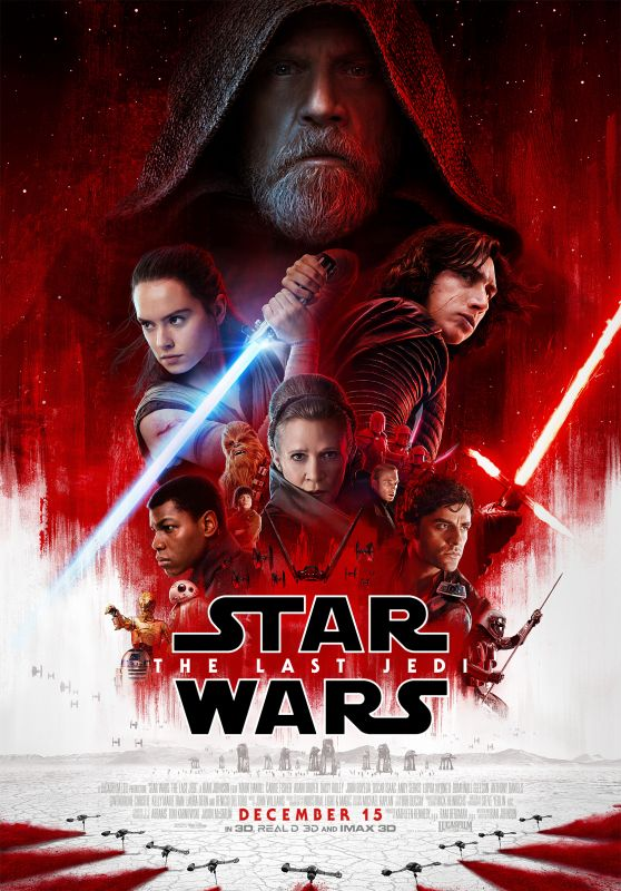 STAR WARD: THE LAST JEDI Trailer and Posters