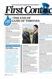 GAME OF THRONES - SFX May 2019