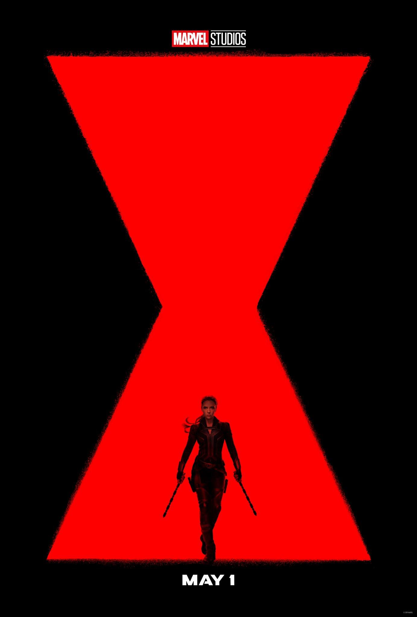 """Black Widow"" Poster"